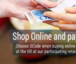 SCode - Buy Online - Pay with CASH